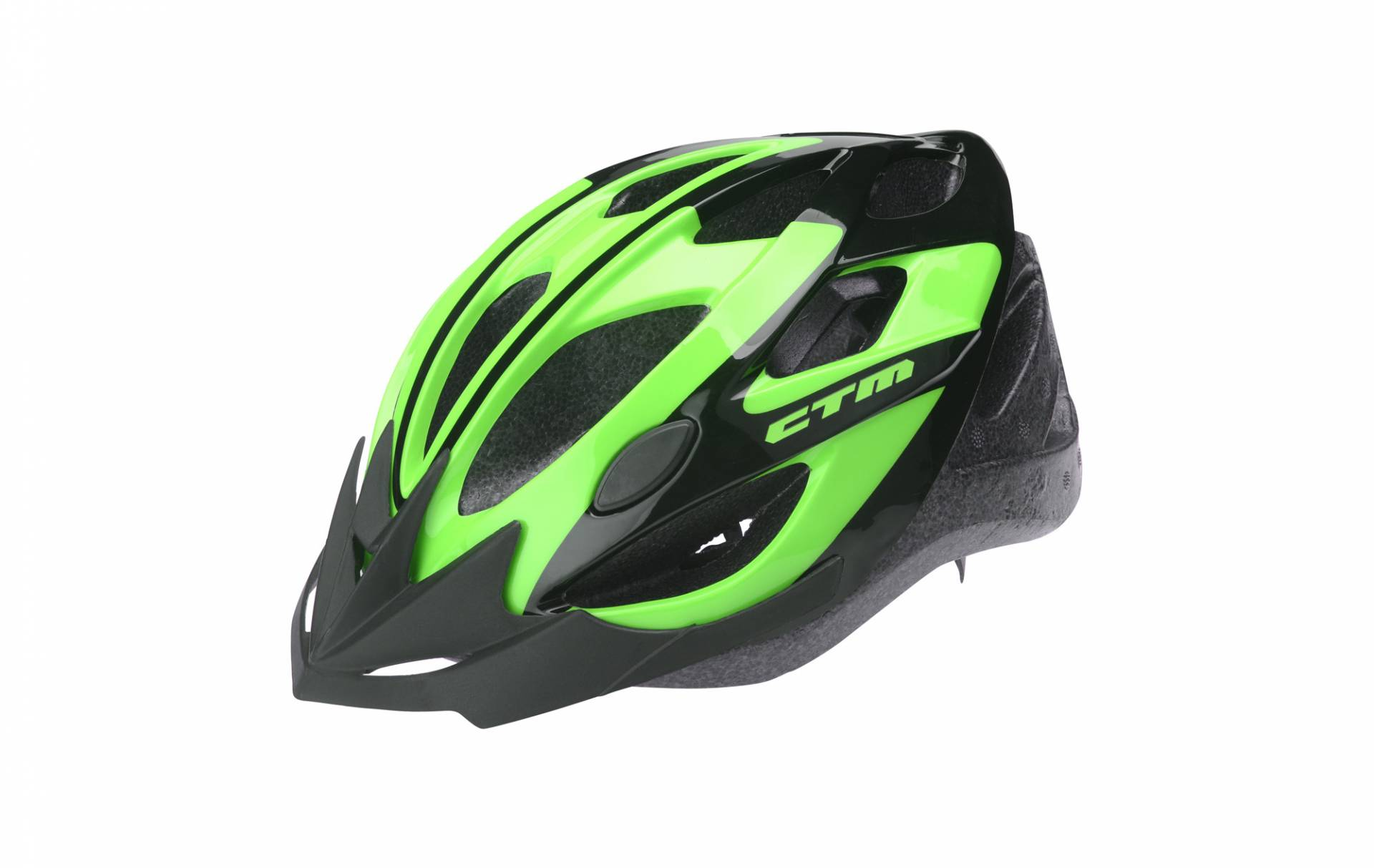 Helmet CTM SLASH, black-green, L